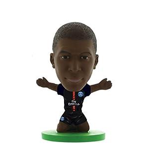 SoccerStarz- Home Kit 2018 Version Paris St Germain Kylian Mbappe Figurine, SOC1199 9