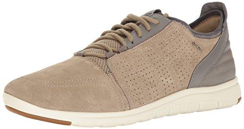 Geox Heren M Xunday 2 Fit 4 Fashion Sneaker Zand / Grijs