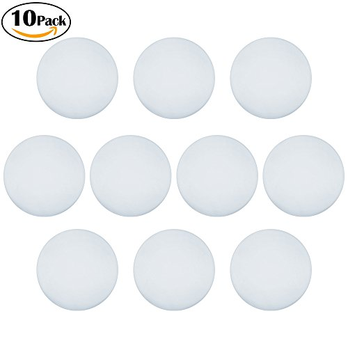 """Door Knob Protector 10 Packs with Self Adhesive Sticker, Silicone Door Handle Wall Protector Bumper Guard Shield Cover Stopper to Protect Wall & Doorknob / Refrigerator / Cabinets Doors – 1.6"""" Dia"""