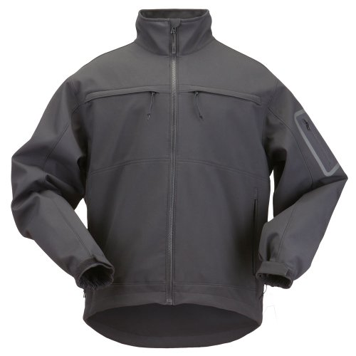Jackets 5.11 Tactical Outerwear (5.11 Tactical #48099 Chameleon Softshell Jacket (Black, X-Large))