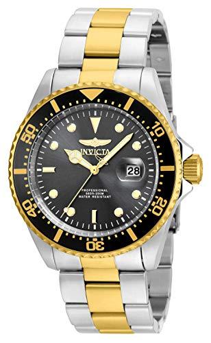 (Invicta Men's 22057 'Pro Diver' Quartz Stainless Steel Two Tone Bracelet Watch)
