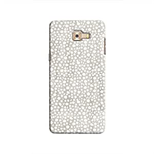 Cover It Up - Silver Pebbles Mosaic Galaxy C9 Pro Hard Case