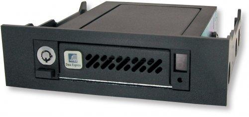 CRU-Wiebetech 6416-6500-0500 Data Express DE50, Storage mobile rack, SATA 6Gb/s / SAS 6Gb/s, Black by CRU-WIEBETECH