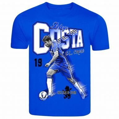 c1511870f Image Unavailable. Image not available for. Color: Diego Costa Spain &  Chelsea Goal Machine T-Shirt
