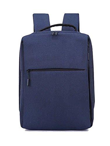 Laptop-Rucksack mit USB-Ladeanschluss,14 Zoll Laptoptasche,Wasserdichte Business Schulrucksack Unisex Daypack Casual Backpack Reiserucksack (Blau) Blau