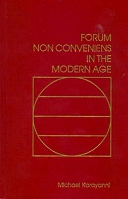 thesis forum non conveniens