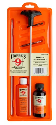 Hoppe's No. 9 Cleaning Kit with Aluminum Rod, 7mm.270/.280 Caliber Rifle by Hoppe's