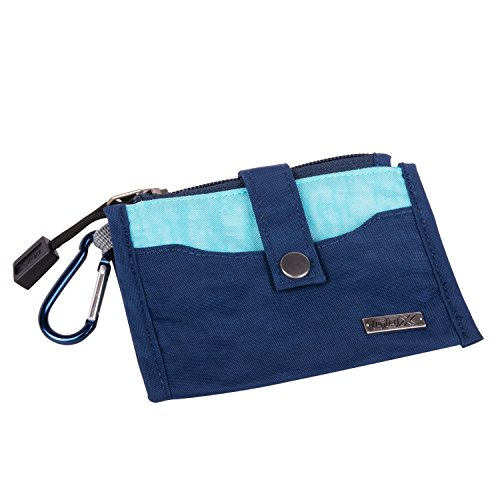 gox-travel-wallet-coin-purse-key-wallet-passport-holder-pouch-with-carabiner-navey-blue