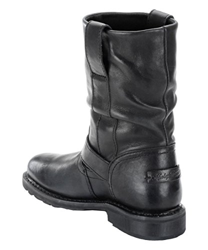 Davidson Leather Darice Ladies Boots Biker Black Original Boot On Harley Slip UHxn14wIxd
