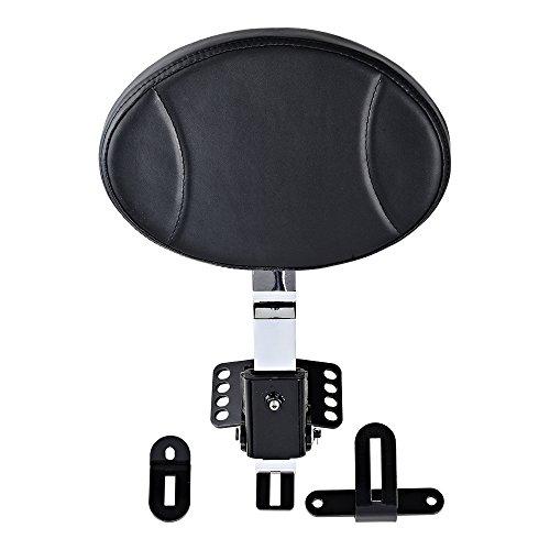 Adjustable Plug in Driver Rider Backrest Kit for Harley Touring FLHT FLTR FLHX - Rider Adjustable Backrest