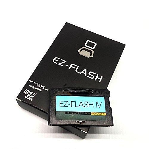 482b486e127 EZ-FLASH IV v2.00 NEWEST VERSION! EZ4 Super Card for GBA