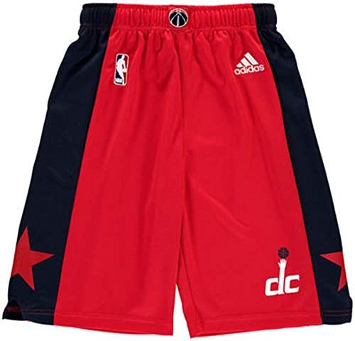 Washington Wizards Adidas Youthレッドレプリカon-courtパフォーマンスショーツ