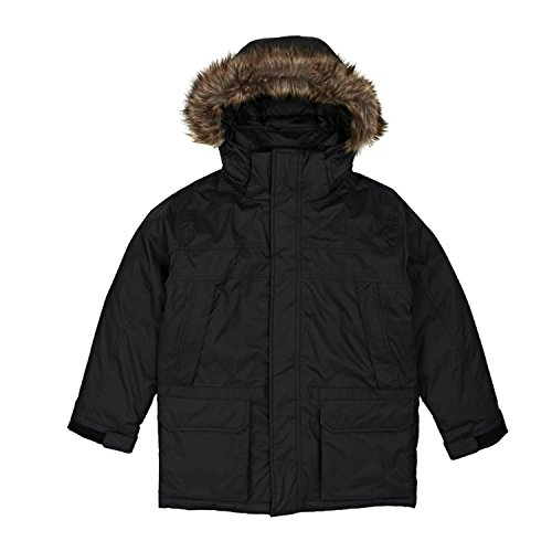 Mcmurdo Down Parka (The North Face BOYS' MCMURDO DOWN PARKA color: TNF BLACK size: LG (14-16 Big)