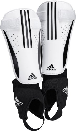 Chrome Soccer Shin Guards (adidas Chrome Shin Guard Shin Guard (White, Black, Size X-Large))