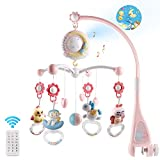Baby Musical Crib Mobile with Timing Function