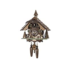 Engstler Quartz Cuckoo Clock Heidi House with Music