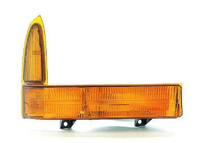 Amber Parking Light Lenses - PASSENGER SIDE SIGNAL LIGHT Ford Excursion, Ford F-250 Super Duty, Ford F-350 Super Duty, Ford F-450 Super Duty, Ford F-550 Super Duty PARKING/SIGNAL LAMP; RH [ALL AMBER LENS] [01 WO/BOUNDRIES PKG]