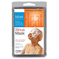 Thermalon Microwave Activated Moist Heat-Cold Sinus and Allergy Relief Mask. 5 1...