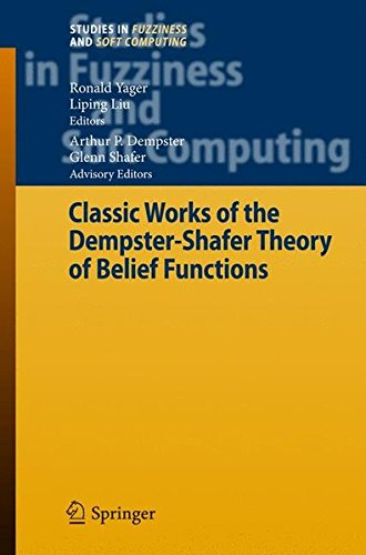 Read Online Classic Works of the Dempster-Shafer Theory of Belief Functions (Studies in Fuzziness and Soft Computing) pdf