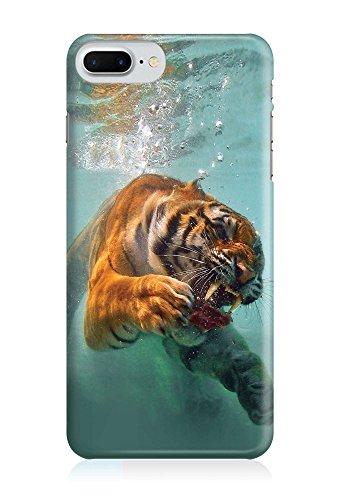 COVER Tiger Raubkatze Tier Unterwasser Design Handy Hülle Case 3D-Druck Top-Qualität kratzfest Apple iPhone 7 Plus