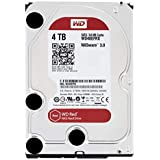 WD Red 4TB NAS Hard Disk Drive - 5400 RPM Class SATA 6 GB/S 64 MB Cache 3.5-Inch - WD40EFRX