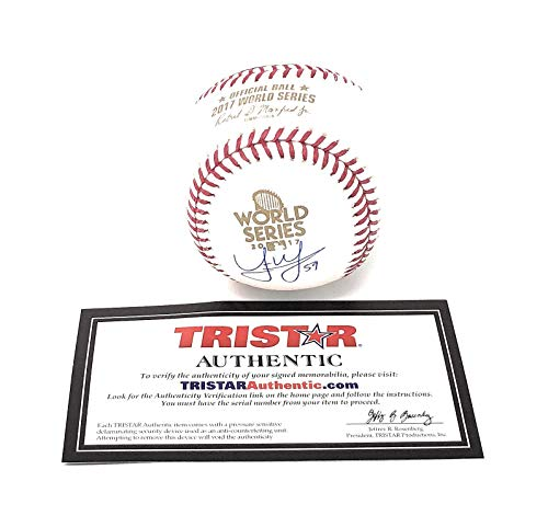 Joe Musgrove Houston Astros Signed Autograph Official MLB World Series Baseball Tristar Authentic Certified