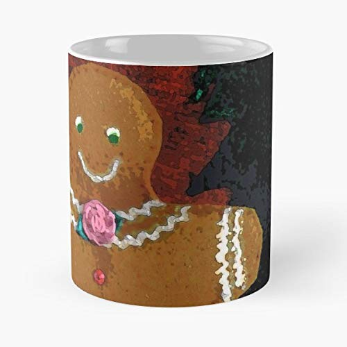 - Christmas Cards Gingerbread Man Cookie Seasonal - Funny Gifts For Men And Women Gift Coffee Mug Tea Cup White 11 Oz.the Best Holidays.