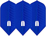 LSTYLE Dart Flights: L6 PRO Slim - Dimple Texture - for Soft Tip and Steel Tip Darts
