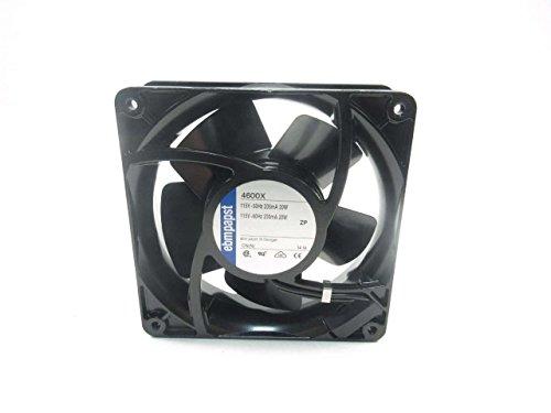 EBM-PAPST 5938 AC Fans Size=127x127x38 mm CFM=95.3 VAC=115
