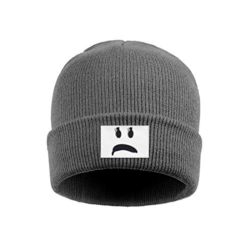 gigiring Sad face Banana and Hand Grenade Multifunction Cuff Beanie Hat Skull Cap for Men Women ()