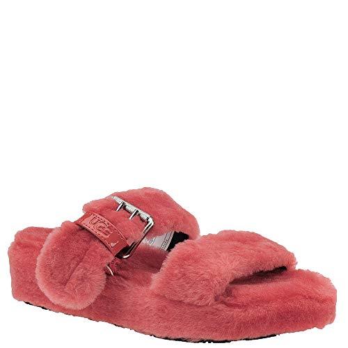 UGG Women's Fuzz Yeah Wedge Sandal, Mariposa, 5 M US ()