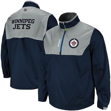 NHL Reebok Winnipeg Jets centro hielo con cremallera ...