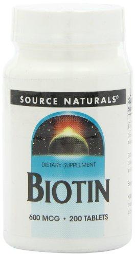 Source Naturals Biotin 600mcg, 200 Tablets
