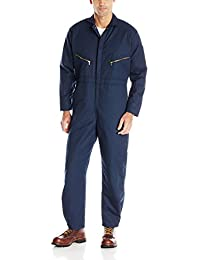 Men's Insulated Twill Coverall with Quilted Lining, Long Sleeve