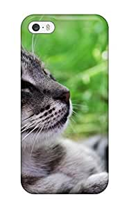 Anti-scratch And Shatterproof Cat Phone Case For Iphone 5/5s/ High Quality Tpu Case