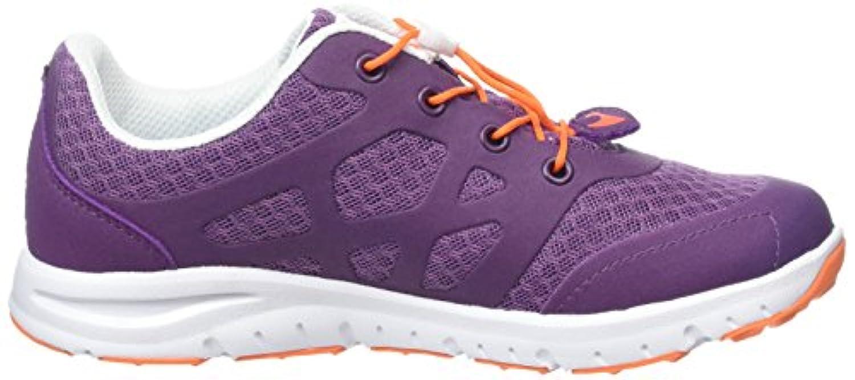 Viking Unisex Kids' Saratoga II Low-Top Sneakers Purple Size: 1 UK