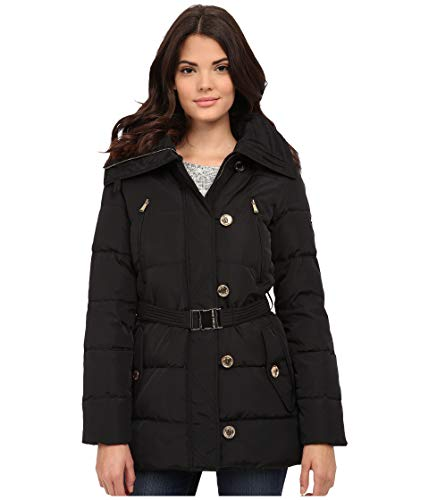 Michael Kors Fur Trim Hooded Down Coat