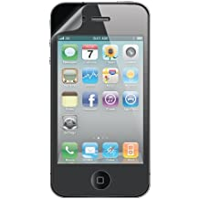 Amzer Shatterproof Scratch-Resistant Screen Shield for iPhone 4/4s - Retail Packaging