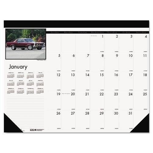 Doolittle Classic Cars - Bulk 2019 Classic Cars Desk Pad Calendars: HOD169 (18 Desk Pad Calendars)