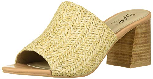 (Seychelles Women's Commute Heeled Sandal, Natural Raffia, 8.5 M US)