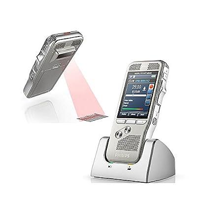 Philips DPM8500 Digital Pocket Memo with intergraded Barcode Scanner