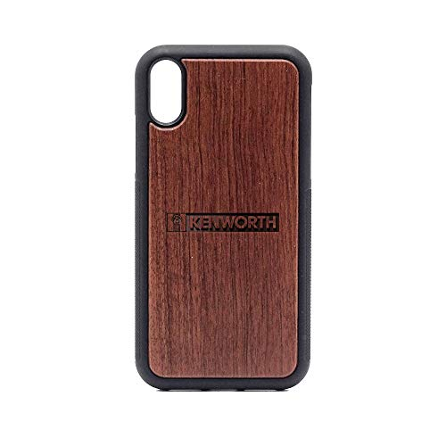Kenworth - iPhone XR Case - Rosewood Premium Slim & Lightweight Traveler Wooden Protective Phone Case - Unique, Stylish & Eco-Friendly - Designed for iPhone XR