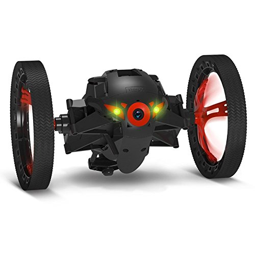 Price comparison product image Parrot Mini Drone Jumping Sumo - Black(Certified Refurbished)