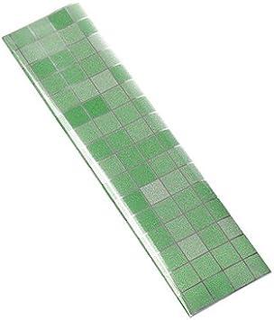 WEIAIXX 3 Aceite De Cocina Azulejos Con Adhesivo De Alta Resistencia A La Temperatura De Agua Y Pegatinas De Pared Autoadhesivas Humos Extractores De Rodamientos Suciedad Mosaico Verde 3