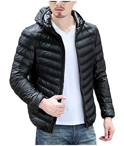 Fit Il Cappotto Leggero Peso Maschile As7 Giù Rkbaoye Cerniera Regular Ultra Inverno qX4wf4