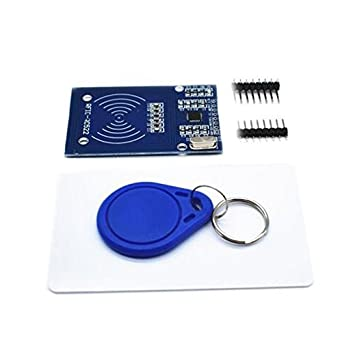 RHDZQ 1set HW-126 MFRC-522 RC522 Radio RFID Frecuencia Tarjeta IC Sensor Módulo SPI Escribir: Amazon.es: Industria, empresas y ciencia