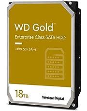 "Western Digital 18TB WD Gold Enterprise Class Internal Hard Drive - 7200 RPM Class, SATA 6 Gb/s, 512 MB Cache, 3.5"" - WD181KRYZ"