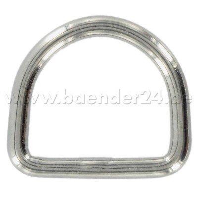 Anilla en D, de acero inoxidable, 30 mm de dimensión ...
