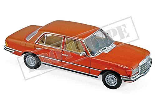 Norev 1976 Mercedes Benz 450 SEL 6.9 Metallic Orange 1/18 Diecast Model Car 183459