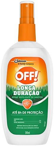 Repelente Off Longa Duração Spray 200ml